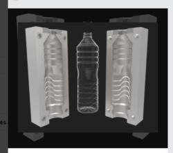 Drinking Water Bottle Mould