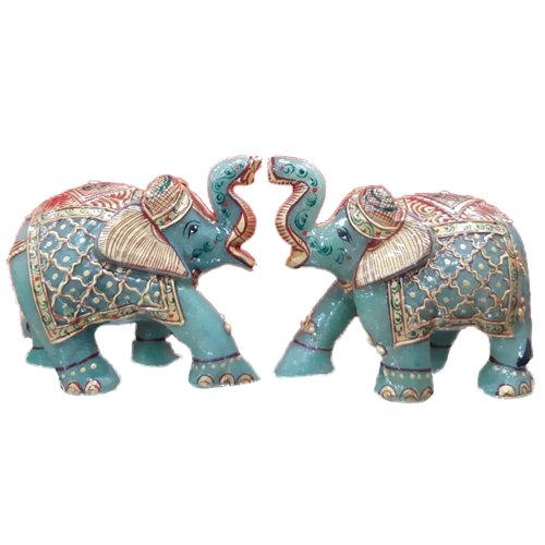 Antique Marble Jade Stone Elephant Statue For Interior Decor Size Dimension 4 Inch Rs 1200 Piece Id 21689619730