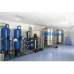 Semi Automatic Packaged Drinking Water Plant