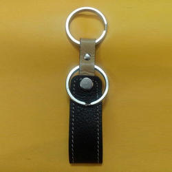 Office Leather Key Ring