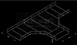 Tee Bend For Wiremesh Cable Tray