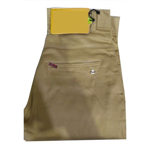 0312fd29ad6da Mustard Cotton Mens Regular Fit Plain Trouser, Rs 280 /piece | ID ...