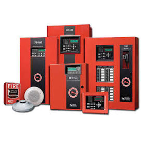 commercial fire alarm system at rs 25000 /unit | fire ... commercial security alarm wiring diagram commercial fire alarm wiring #3