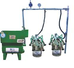 Fixed Type Double Bucket Milking Machine