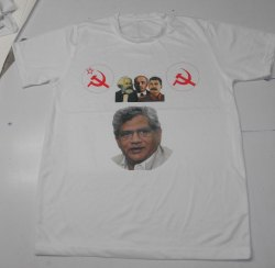 Polyester White CPM Election T-Shirt