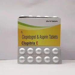 Aspirin 75mg   Clopidogrel 75mg Tablets