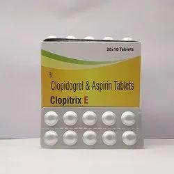 Aspirin 75mg Clopidogrel 75mg Tablets