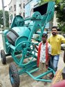 Concrete Mixer Machine With Mechanical Hopper