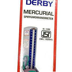 DERBY BP Apparatus Mercurial ISI, For Hospital