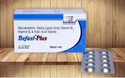 Methylcobalamin 1500 mcg,Alpha Lipoic Acid 100 mg,Vit.B6 3 mg, Thiamine 10 mg & Folic Acid 1.5 mg