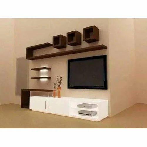 Wooden Wall Mounted Designer Tv Unit Rs 15000 Piece Guru Govind Furniture Id 20455735491