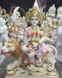 Marble Durga Ma Murti
