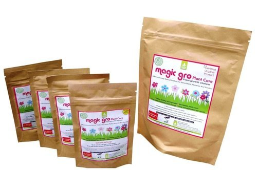 Organic Plant Growth Promoters for Potted Flowers
