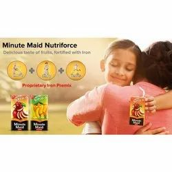 Apple Minute Maid Nutriforce Fruit Juice, Packaging Size: 30 Piece, Packaging Type: Box