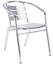 Aluminum Cafe Chairs
