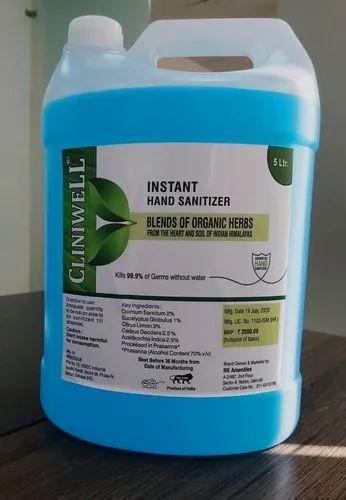 Cliniwell Alcohol Based Hand Sanitizer