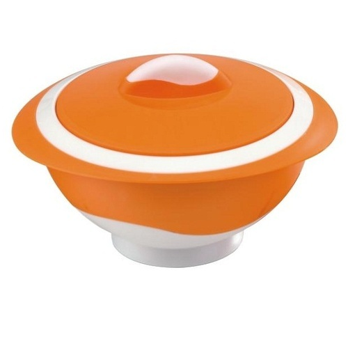 Plastic Orange Pinnacle Insulated Thermo Food Casserole, Size: 500 1000 2000 3000 Ml