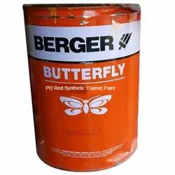 Berger Butterfly PO Red Synthetic Enamel Paint