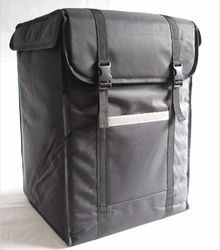 Black Delivery Bikers Bag