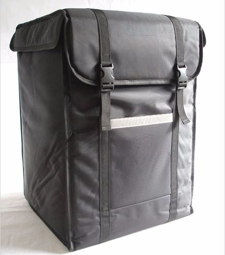 3c02f4e81be Black Courier Delivery Bikers Bag, Size  28x20x18 Inches   ID ...