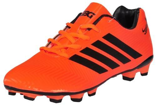 2559c0281 PU Lace-Up GBG Mens Messi Synthetic Leather Football Studs Shoes, Rs ...