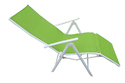Folding Reclining Chair - Leg Frame - Green