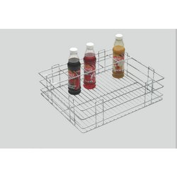 Aluminum Bottle Basket