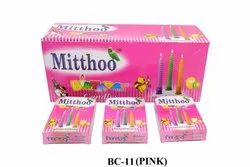 Bc-11 Mitthoo Birthday Candle Pink Box