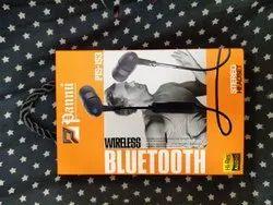 Pannu Black Sports Wireless Handfree Buletooth, Model Name/Number: 115