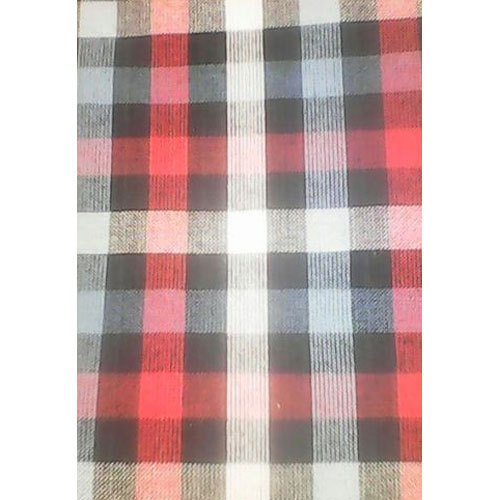 Checked Woven Fabric