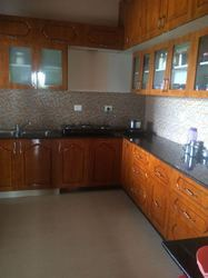 Teak Rubber Wood Kitchen