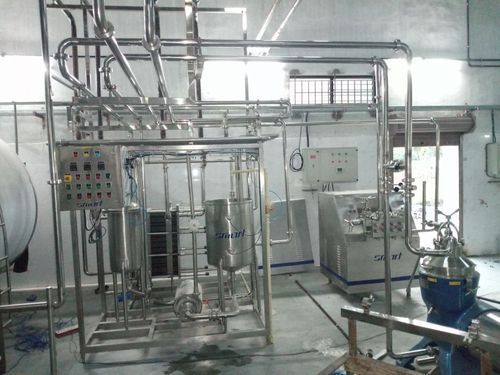 Milk Plant Turn Key Project For Dairy Plant Manufacturer