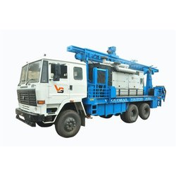 V Global Equipment's DTH 300 Truck Mounted Water Drilling Rig