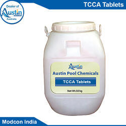 Corrosion Inhibitor Chemical Processing TCCA Tablet for Desalination, Packaging Type: Plastic Can