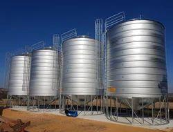 Zincalume Grain Storage Silo