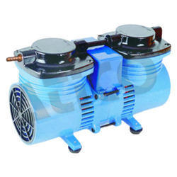 Double Stage Electric Oil Free Pump, Voltage: 220/230 V AC