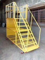 Mild Steel Step Ladder Trolley