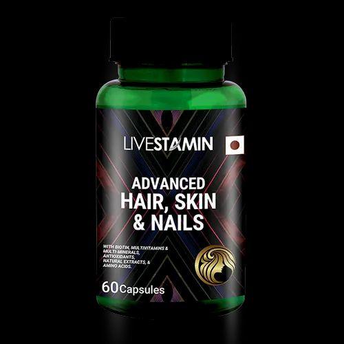 Hair Growth Vitamins >> Hair Growth Vitamins Skin Nail Care Capsules Hsn