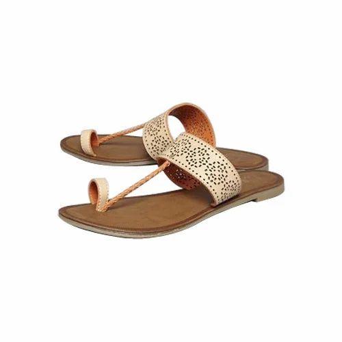 666fe585e Casual Wear Designer Handmade Ladies Flat Sandal