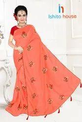Fancy Banglori Lotkan Saree
