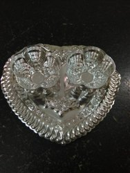 Haldi Kumkum Bowl And Tray Set