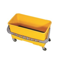 Yellow PP Glass Cleaning Bucket