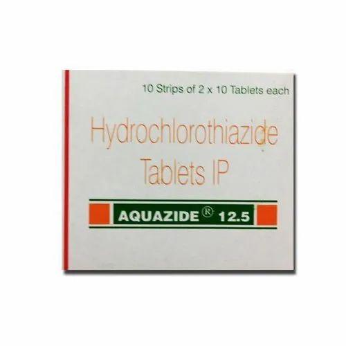 Aquazide 12.5mg Hydrochlorothiazide Tablet