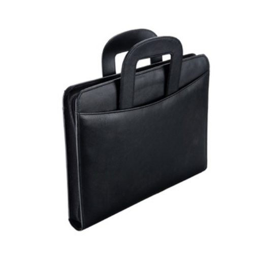 fdb91d9aef23 Black Document Bag File Folder