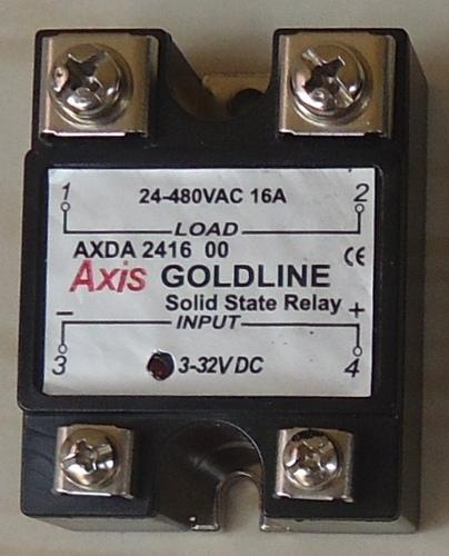 Solid State Relays Single Phase - Single Phase DC to AC