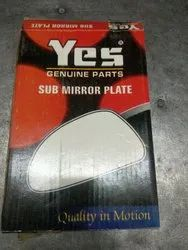 Sub Mirror Plate for Car