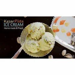 Kesar Pista Ice Cream Party Pack, Packaging Type: Paper Box