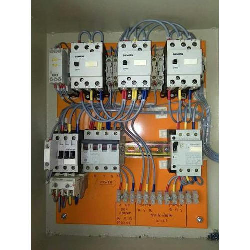 Siemens Three Phase Star Delta Starter Panel  Ip Rating