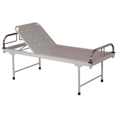 Manual Backrest Hospital Bed