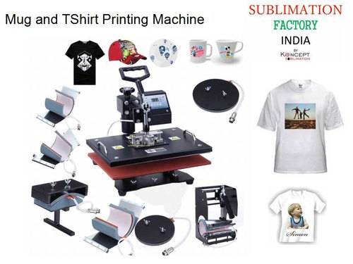 65b253a8 Mug and T Shirt Printing Machine at Rs 9000 /piece | टी शर्ट ...
